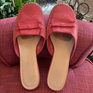 Adorable Pink Leather Flats by Madeline Stuart